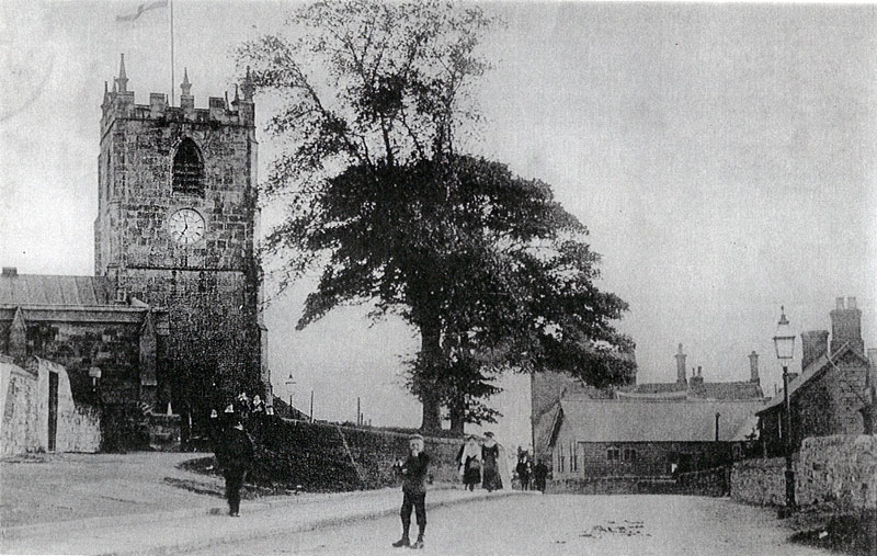 Tibshelf Church from the North