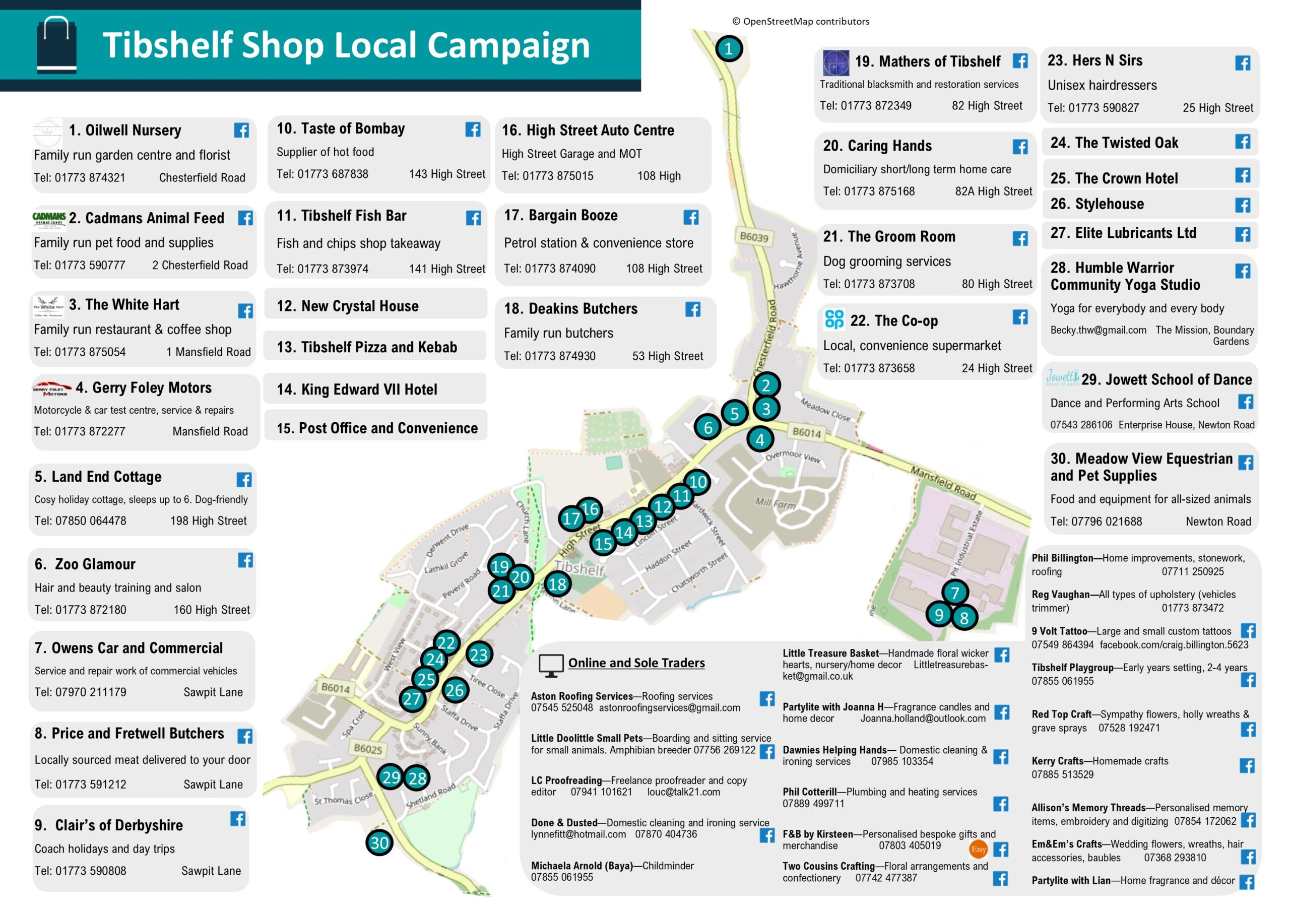 Shop Local Map